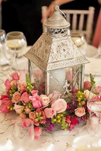 lantern wedding centerpiece ideas 1
