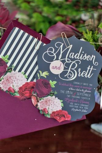 gorgeous rustic ideas for wedding invitations 6