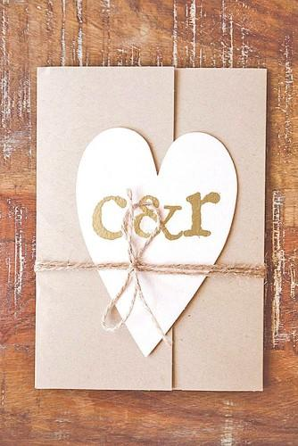 rustic ideas for wedding invitations 22