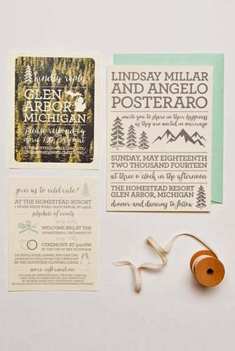 rustic ideas for wedding invitations 6