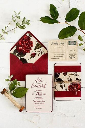 gorgeous rustic ideas for wedding invitations 1
