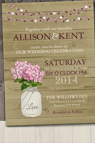 rustic ideas for wedding invitations 15