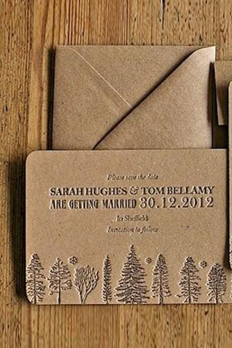 rustic ideas for wedding invitations 7