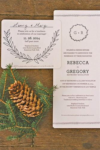 rustic ideas for wedding invitations 5