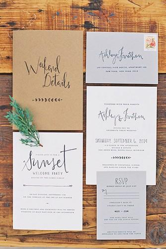 rustic ideas for wedding invitations 10