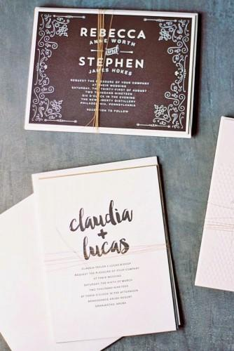 vintage ideas for wedding invitations 4
