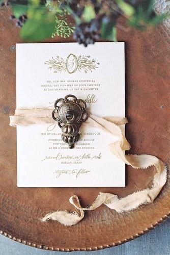 vintage wedding invitations 2