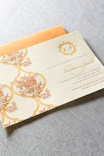 vintage ideas for wedding invitations 6