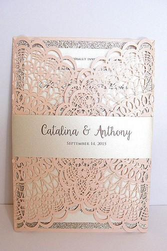 vintage ideas for wedding invitations 17