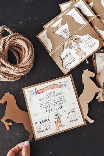 vintage ideas for wedding invitations 18