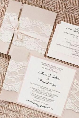 vintage ideas for wedding invitations 19