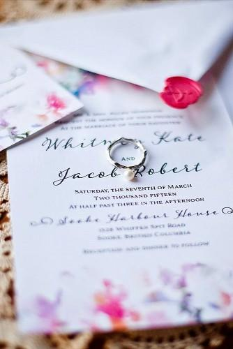 vintage ideas for wedding invitations 21