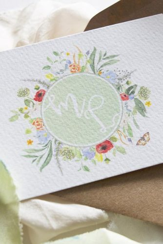 wedding monogram monogram watercolor wonderland invites & design via instagram