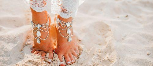 beach wedding shoes sara monika featured