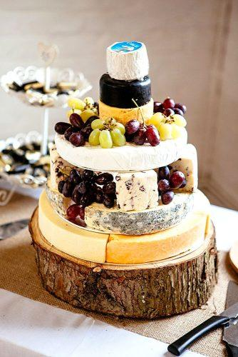 cheese wedding cakes 1
