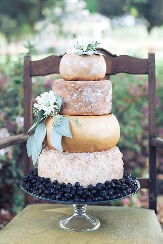 wedding cheese wheel cake 12
