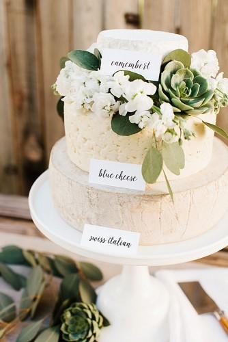 cheese wheel wedding cake 3