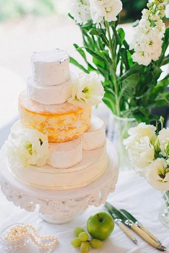 wedding cheese wheel cake 21
