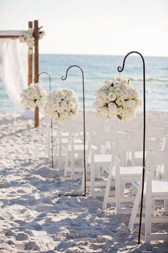 wedding beach aisle 25