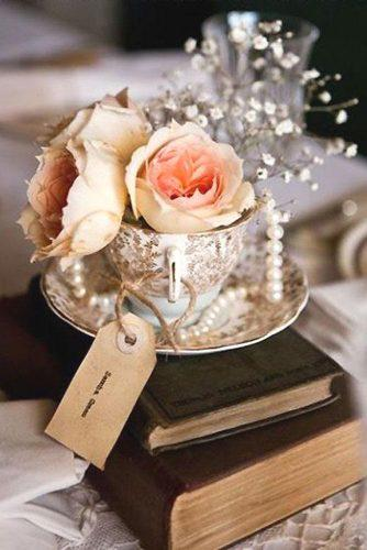 chic vintage wedding flower ideas