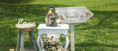 chic vintage wedding main