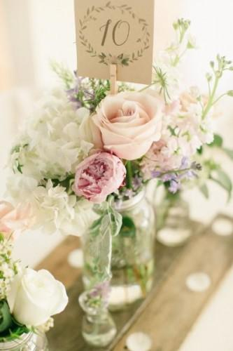 chic and shabby vintage wedding decor ideas 3