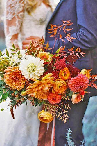 fall wedding bouquets 9