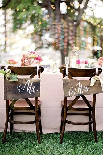 fall wedding decor for chairs 1