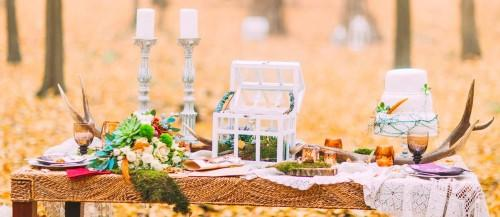 ideas for fall wedding decorations