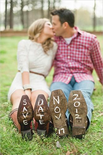 rustic save the date ideas 2
