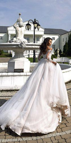 tina valerdi wedding dresses ballgown natural waist u shaped back 9F8A9929