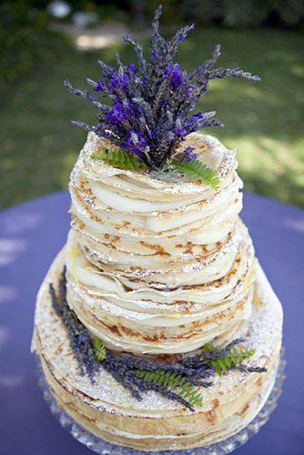 wedding cake alternatives crepe cake lavender petite rêve chocolates