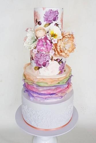 colored wedding cakes 12