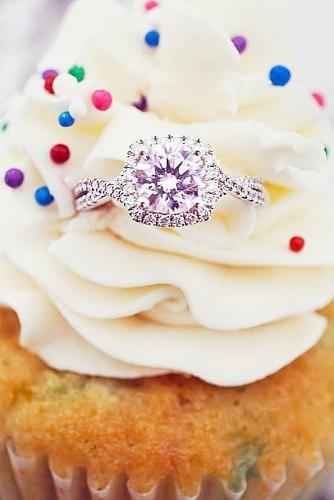 cushion cut halo engagement rings 5