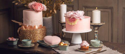 fondant flower wedding cakes featured