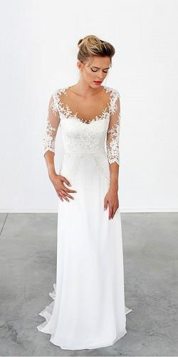 9e15ebb0102 30 Simple Wedding Dresses For Elegant Brides