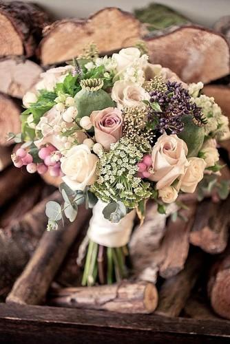 charming fall little wedding bouquets 1