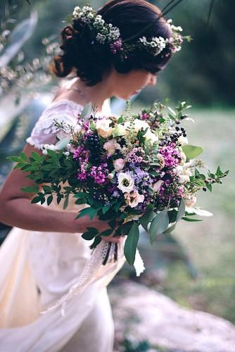 charming fall little wedding bouquets 2