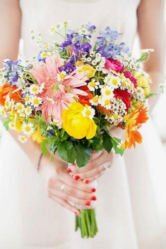 summer little wedding bouquets 3