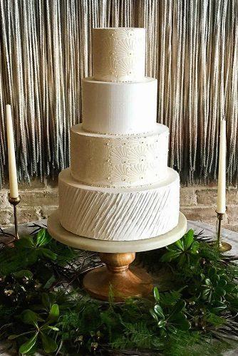 textured wedding cakes simple white with an unusual complex texture blue thistle cakes via instagram