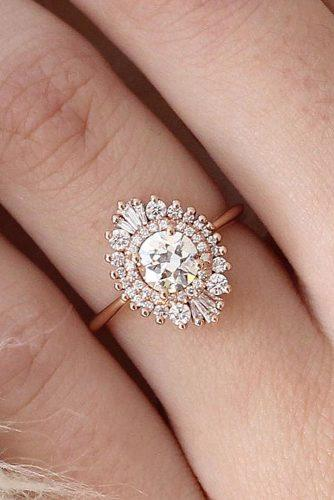 vintage antique style engagement rings 1