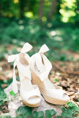 white wedge wedding shoes tifani lyn