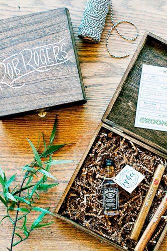 alcohol in box groomsmen proposal ideas jenna leigh
