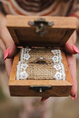 engagement ring boxes country style