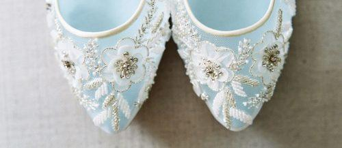 flat wedding shoes lace and gorgeous details