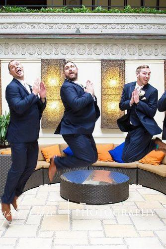 groomsmen photos funny groomsmen jump high simply chic photography