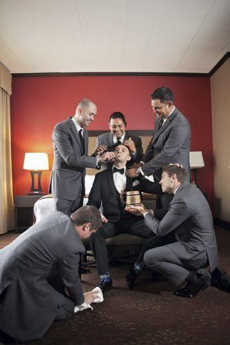 groomsmen photos ready il wedding photography