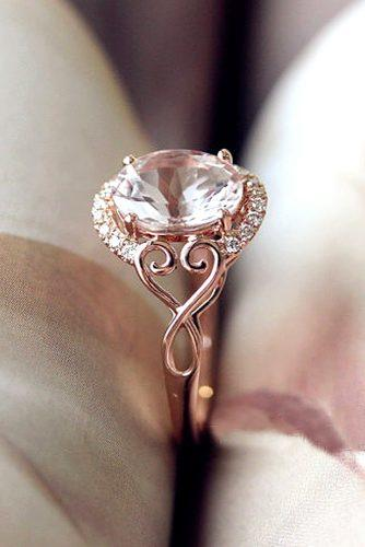 morganite oval cut engagement rings 1