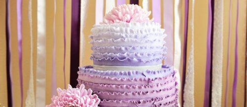 ombre wedding cakes featured