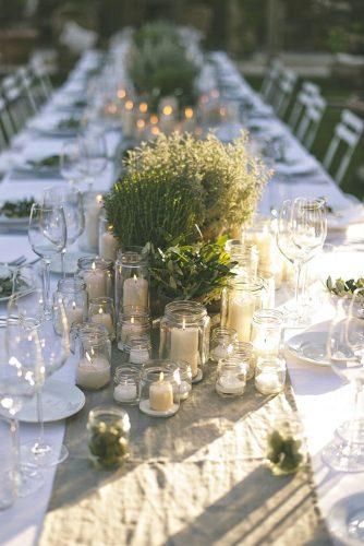 rustic wedding table decor 3